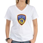 Santa Rosa Fire Women's V-Neck T-Shirt