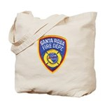 Santa Rosa Fire Tote Bag