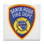 Santa Rosa Fire Tile Coaster