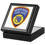 Santa Rosa Fire Keepsake Box