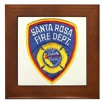 Santa Rosa Fire Framed Tile