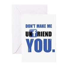 Unfriend Greeting Cards (Pk of 10)