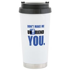 Unfriend Ceramic Travel Mug