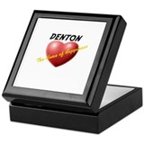 Denton the Home of Happiness Keepsake Box