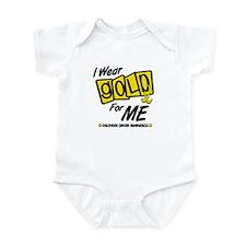I Wear Gold For Me 8 Infant Bodysuit