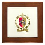 GUEDRY Acadian Crest Framed Tile