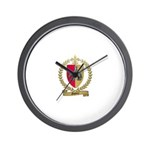 GUEDRY Acadian Crest Wall Clock