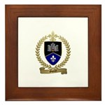 GUERET Family Crest Framed Tile