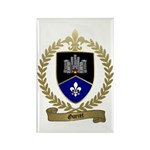 GUERET Family Crest Rectangle Magnet
