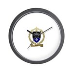 GUERET Family Crest Wall Clock
