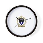 GUERET Family Crest Wall Clock