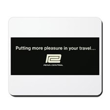 Penn Central Railroad Travel Logo Mousepad