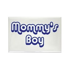 Mommy's Boy Rectangle Magnet