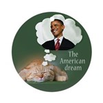 The American Dream Ornament (Round)