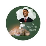 "American Dream 3.5"" Button"