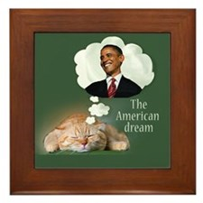 American Dream Framed Tile