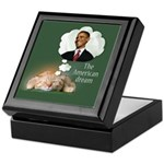 American Dream Keepsake Box