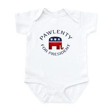Pawlenty for President Infant Bodysuit