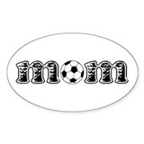 Soccer Mom Oval Decal
