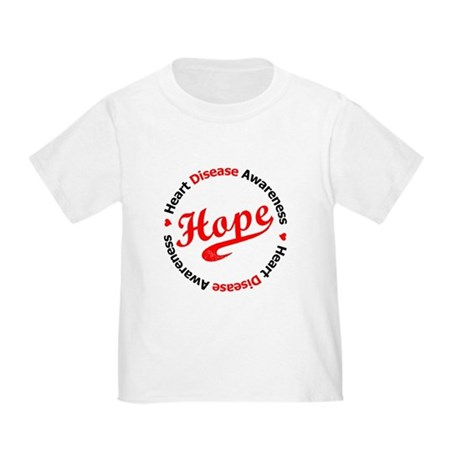 Heart Disease Hope Toddler T-Shirt