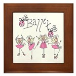 Ballet Framed Tile