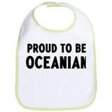 Proud to be Oceanian Bib