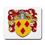 Van Den Berg Coat of Arms Mousepad