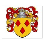 Van Den Berg Coat of Arms Small Poster