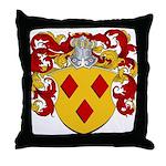 Van Den Berg Coat of Arms Throw Pillow