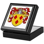 Van Den Berg Coat of Arms Keepsake Box