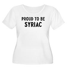 Proud to be Syriac T-Shirt