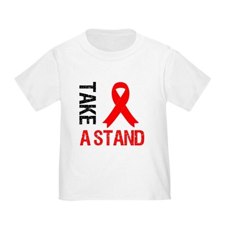 Heart Disease TakeAStand Toddler T-Shirt