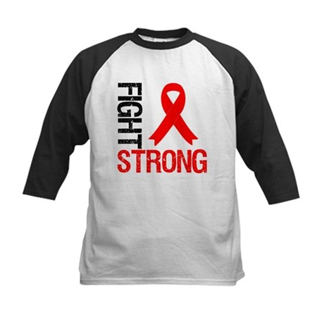 HeartDisease FightStrong Kids Baseball Jersey
