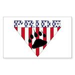 USA Bear Pride Sticker