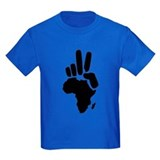africa darfur peace hand vintage  T