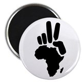 Nigeria 2.25&quot; Round Magnet