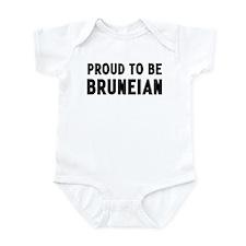 Proud to be Bruneian Infant Bodysuit