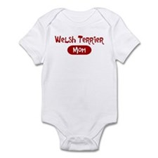 Welsh Terrier mom Infant Bodysuit