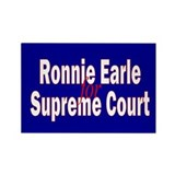 Earle for Supreme Court. Rectangle Magnet