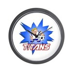 Titans Wall Clock