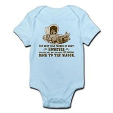 oregon trail hunting results Infant Bodysuit