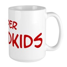 Super Grandkids Large Mug