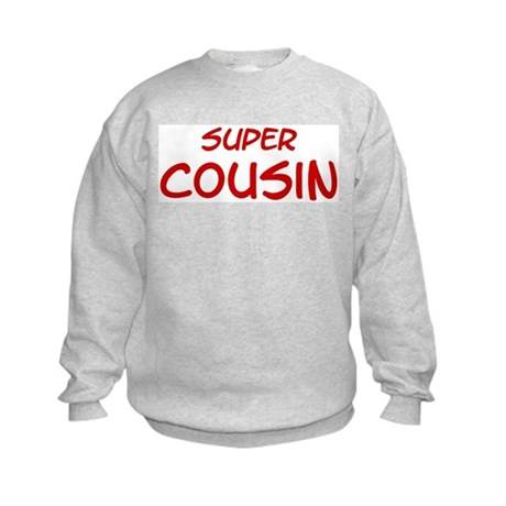 Super Cousin Kids Sweatshirt