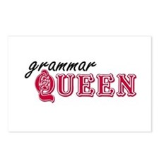 Grammar Queen Postcards (Package of 8)
