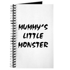 MUMMY'S LITTLE MONSTER! Journal