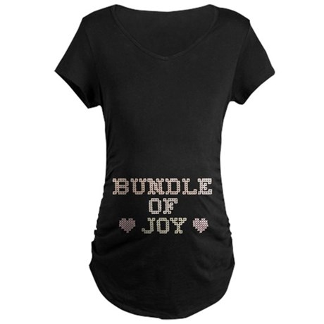 Bundle of Joy Maternity Dark T-Shirt