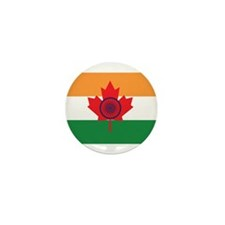 Indo Canadian Mini Button (10 pack)