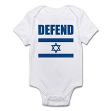 Defend Israel Infant Bodysuit