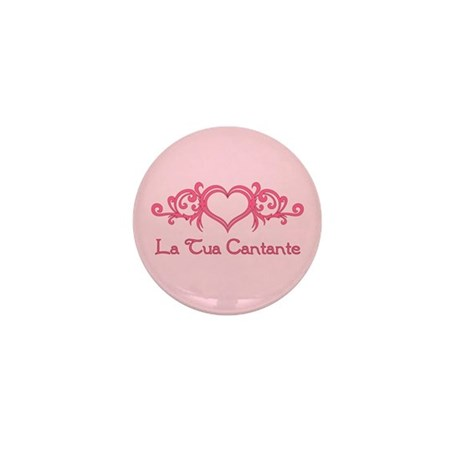 La Tua Cantante Mini Button (100 pack)