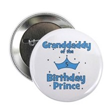 "Granddaddy of the 5th Birthda 2.25"" Button"